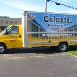 Colonial Mini Storage Inc's Text Wrapped Moving Truck